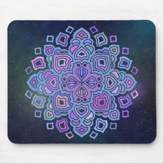 Blue Mandala Mouse Mat