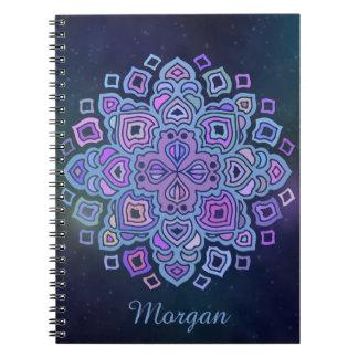 Blue Mandala Notebooks
