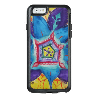 Blue Mandala  OtterBox Apple iPhone 6/6s Symmetry OtterBox iPhone 6/6s Case