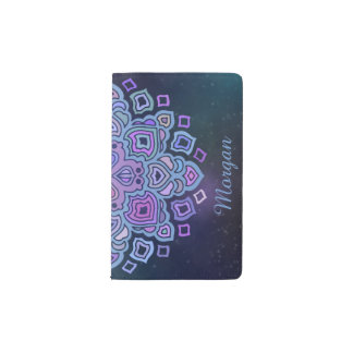 Blue Mandala Pocket Moleskine Notebook