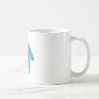 Blue Mandala Turtle Coffee Mug