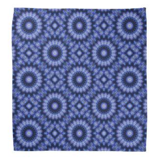 Blue Mandala Zen Indigo Bandanna