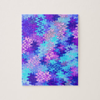 Blue Marble Abstract Jigsaw Puzzle