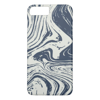 Blue Marble Abstract Texture iPhone 8 Plus/7 Plus Case