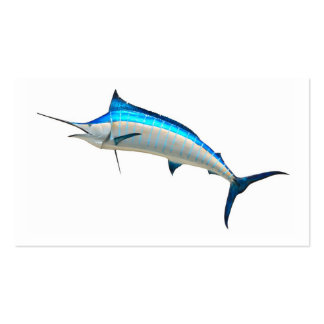 Blue Marlin Game Fish Pack Of Standard Business Cards