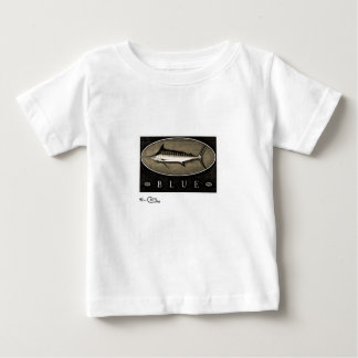 Blue Marlin Infant's Vintage Black & White Apparel Baby T-Shirt