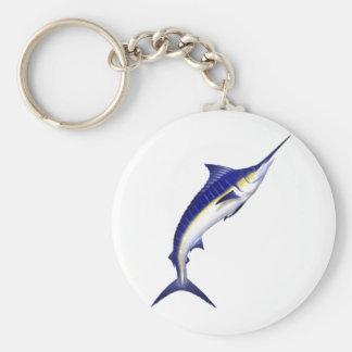 Blue Marlin Keyring