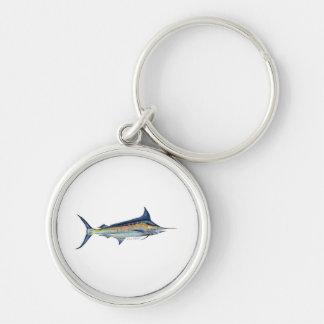Blue Marlin keyring Keychains