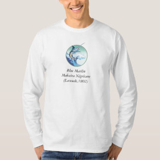 Blue Marlin Makaira Nigricans (Laceoede,... T-Shirt