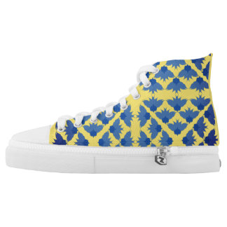 Blue Meadow High Tops