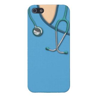 Blue Medical Scrubs Case For The iPhone 5