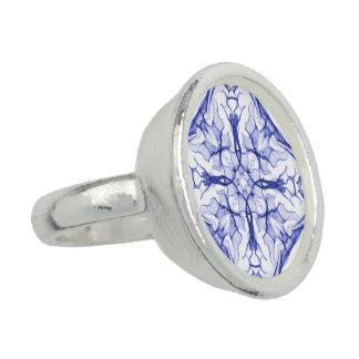 Blue Medieval Fractal