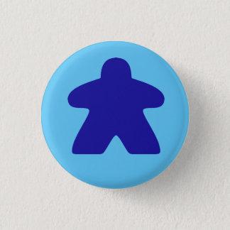 Blue Meeple 3 Cm Round Badge