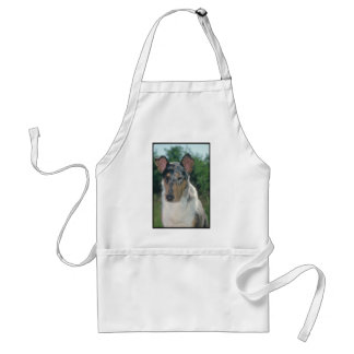 Blue Merle Collie Smooth Coat Standard Apron
