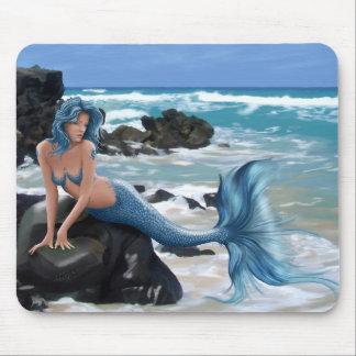 Blue Mermaid Mouse Pad