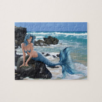 Blue Mermaid Puzzle