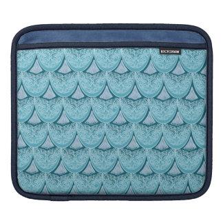 Blue Mermaid scales ,boho,hippie,bohemian iPad Sleeve