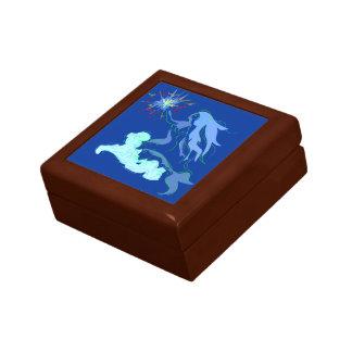 Blue Mermaid Spirit and Stars Gift Box