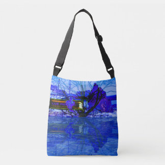 Blue Mermaid tote bag