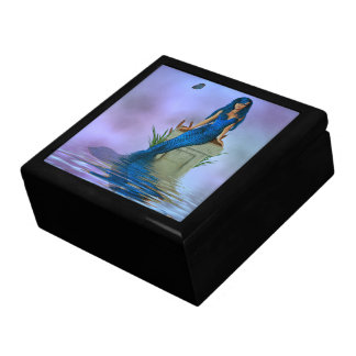 Blue Mermaid Trinket Box