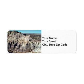 Blue Mesa Badlands return address labels