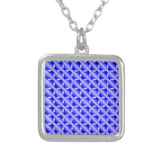 Blue Mesh Pendant