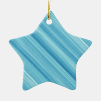 Blue metal background christmas ornament