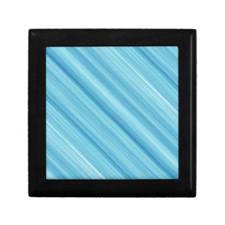 Blue metal background gift box