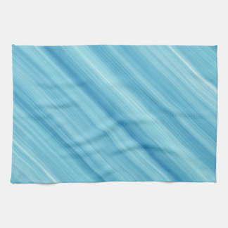 Blue metal background hand towel