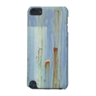 Blue metall Wall iPod Touch (5th Generation) Cases
