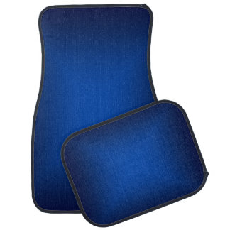 Blue Metallic Car Mats Floor Mat