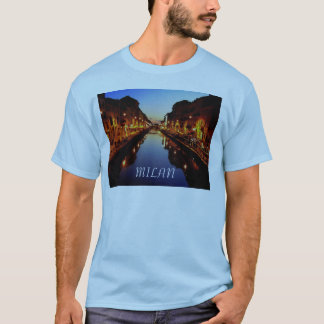 Blue Milan T-Shirt