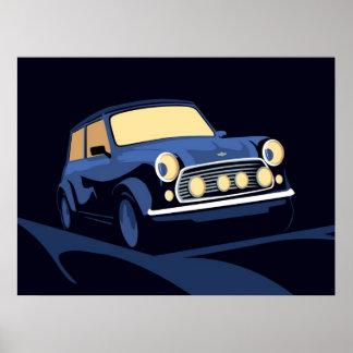 Blue Mini Poster