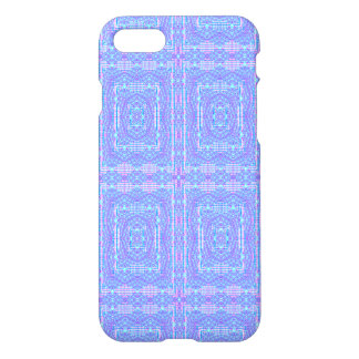 blue modern multicolored pattern iPhone 8/7 case