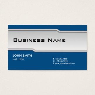 Blue Modern Professional Elegant Classy Business Card
