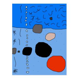 Blue Moma Design Postcard