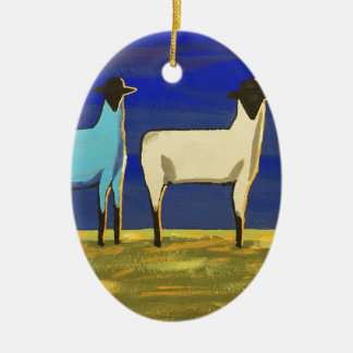 Blue Monday Christmas Ornament