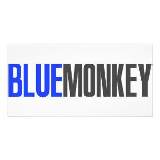 Blue Monkey Card
