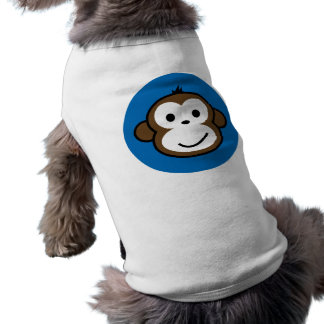 blue monkey shirt