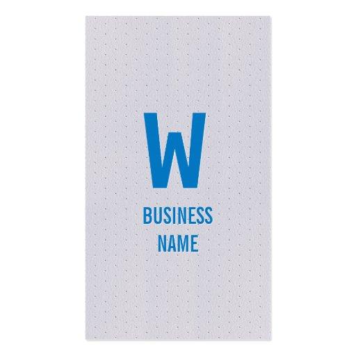 Blue Monogram Apps developer Business Card