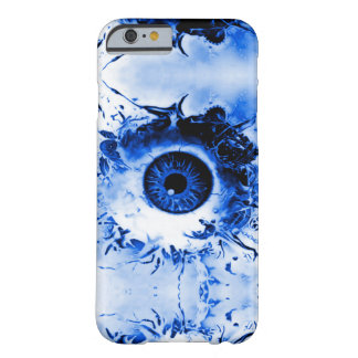 Blue Monster Eye Watcher Horror Show Barely There iPhone 6 Case