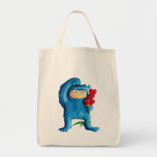Blue Monster Ice Cream Tote Bag
