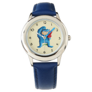 Blue Monster Ice Cream Watch