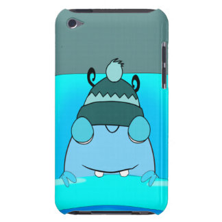 Blue Monster In Bed Sleeping iPod Touch Covers