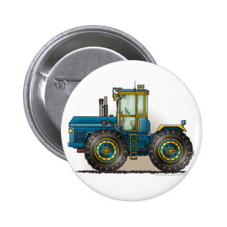 Blue Monster Tractor Pins