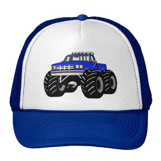 BLUE MONSTER TRUCK CAP