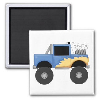 Blue Monster Truck Tshirts and Gifts Magnet