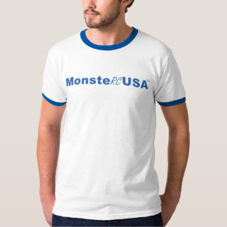 Blue MonsteRCUSA Logo T-Shirt