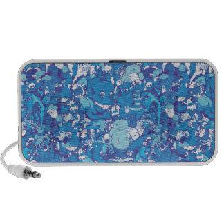 Blue Monsters Laptop Speakers
