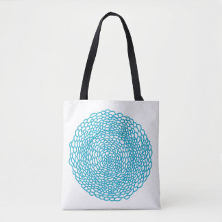 Blue Mood Custom All-Over-Print Tote Bag